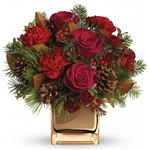 7644 - Warm Tidings Bouquet  Santa Maria CA delivery.