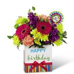 4262 - Bright Birthday Bouquet Santa Maria CA delivery.