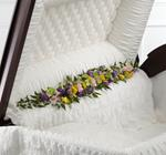 4015 - Trail of Flowers Casket Adornment Santa Maria CA delivery.