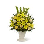 4033 - Golden Memories Arrangement Santa Barbara, CA delivery.