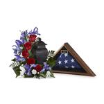 4044 - Patriotic Tribute Arrangement Santa Maria CA delivery.