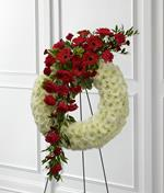 4053 - Graceful Tribute Wreath Lompoc, CA delivery.