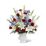 4056 - Cherished Farewell Arrangement Santa Barbara, CA delivery.