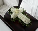 3859 - Peaceful Memories Casket Spray US and Canada delivery.