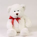 996826 - Plush Valentine Bear San Luis Obispo, CA delivery.