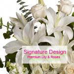 Signature Lily Design from Santa Barbara Flowers