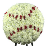 2100 - Baseball Funeral Tribute US and Canada delivery.