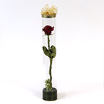 "92189 - Rose under ""Glass"" Santa Maria CA delivery."