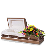 2289 - Bright Morning Casket Spray US and Canada delivery.