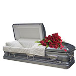 2356 - Rose Casket Spray Santa Barbara, CA delivery.