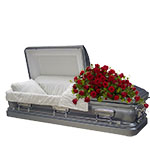 2357 - Rose Casket Spray Santa Barbara, CA delivery.