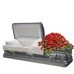 2358 - Rose Casket Spray Santa Barbara, CA delivery.