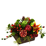 2454 - Fresh Harvest Centerpiece Santa Maria CA delivery.