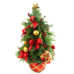 2472 - Table Top Christmas Tree Santa Maria CA delivery.