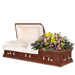 2530 - Grace Casket Spray San Luis Obispo, CA delivery.