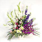 2531 - Garden Grace Slumber Arrangement Santa Maria CA delivery.