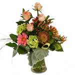 2542 - Brooke Vase Arrangement US and Canada delivery.