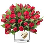 2553 - Emilia Tulip Bouquet US and Canada delivery.