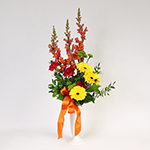 2574 - Fresh Flower Grave Arrangement Santa Maria CA delivery.