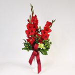 2576 - Fresh Flower Grave Arrangement Santa Maria CA delivery.
