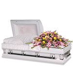 2604 - Pastel Dream Casket Spray San Luis Obispo, CA delivery.