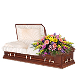 2607 - Bright Tomorrow Casket Spray Santa Maria, CA delivery.