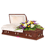 2624 - Treasured Love Casket Spray US and Canada delivery.