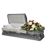 2640 - Cherised Casket Spray Santa Barbara, CA delivery.
