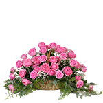 2653 - Basket of Roses Arroyo Grande, CA delivery.