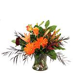 2660 - Saffron Vase Arrangement Santa Maria, CA delivery.