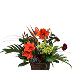 2662 - Autumn Joy Basket Arrangement Santa Maria CA delivery.