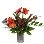 2666 - November Vase Arrangement Santa Barbara, CA delivery.