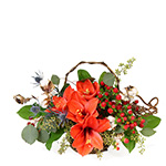 2670 - Sienna Autumn Table Bouquet Santa Maria CA delivery.
