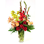 2677 - Raphaela Vase Arrangement US and Canada delivery.