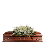 2704 - Clarissa Casket Spray Arroyo Grande, CA delivery.