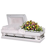 2708 - Spring Garden Casket Spray US and Canada delivery.