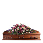 2711 - Celeste Casket Spray US and Canada delivery.