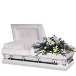 2713 - Mora Petite Casket Spray US and Canada delivery.