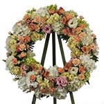 2721 - Serenity Garden Wreath Santa Maria, CA delivery.