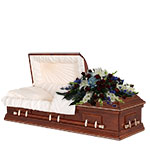 2727 - Patriotic Reflections Casket Cover Santa Maria CA delivery.