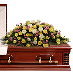 2784 - Sydney Casket Spray Santa Barbara, CA delivery.