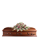 2814 - Edith Casket Cover Santa Barbara, CA delivery.