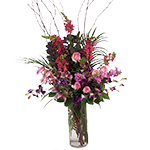2815 - Grace Vase Arrangement Santa Barbara, CA delivery.