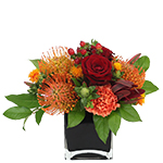 2820 - Arachne Autumn Arrangement Lompoc, CA delivery.
