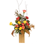 2836 - Adam Rose Arrangement Santa Barbara, CA delivery.