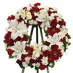 2838 - Santino Premium Wreath Santa Maria CA delivery.