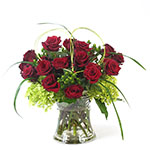 2853 - Logan Rose Bouquet Santa Maria CA delivery.