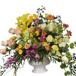 2868 - Adeline Urn Arrangement US and Canada delivery.
