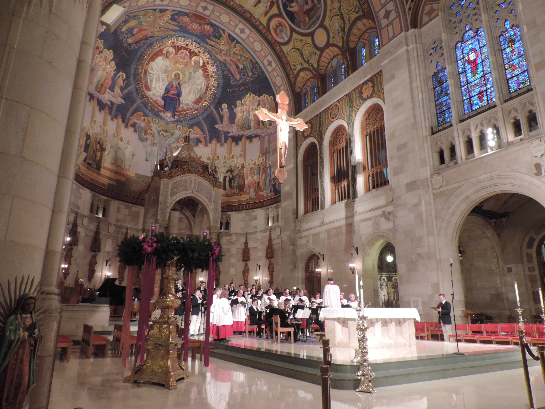 Rosary Cathedral Carol Sing
