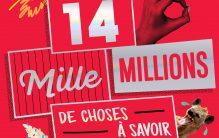 14 MILLE MILLIONS DE CHOSES À SAVOIR : LE LIVRE